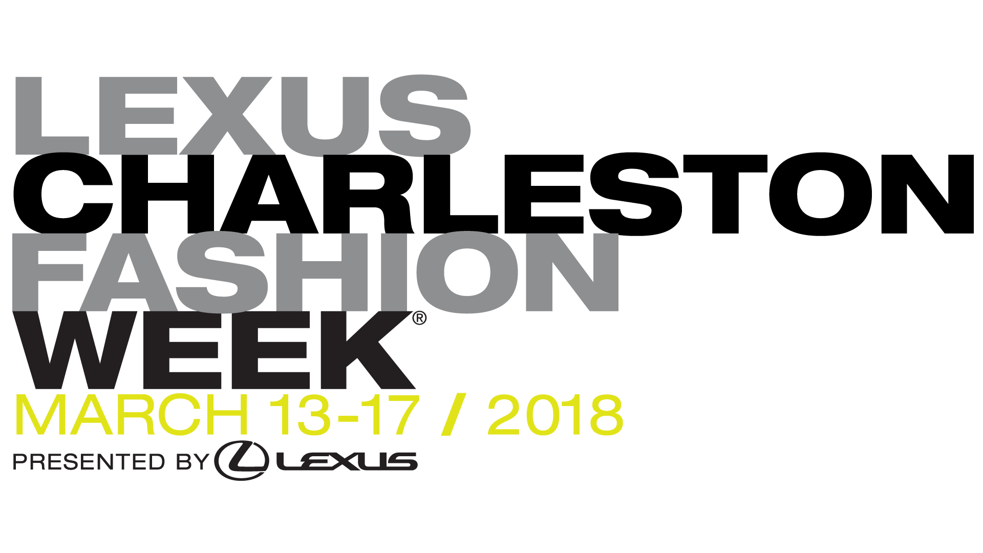 Charleston Fashion Week is March 13-17
